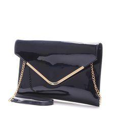 #David #Jones #Pamela Luxusní tmavě modré psaníčko - večerní kabelka David Jones v lakovaném provedení. Ideální kabelka na plesy, recepce nebo do divadla. Nenechte si ji proklouznout mezi prsty!