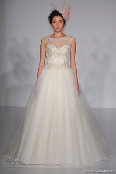 New York Bridal Fashion Week October 2015 Part 4 — Maggie Sottero, Yumi Katsura, Julie Vino, Pronovias, Eve of Milady | Wedding Inspirasi