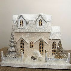 If I'm going to have a miniature Christmas house like a Grandma, it might as well be this one.