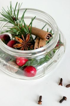 Share your favorite holiday scents  by gifting loved ones with homemade potpourri in a jar. Blogger Delia features three beautiful yet inexpensive combinations that not only look pretty, but smell divine once you've heated them up.  Get the tutorial at Delia Creates.