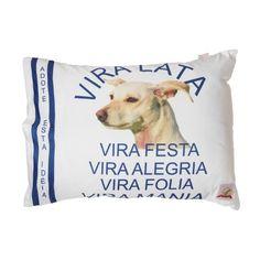 Almofada Raças Vira Lata Bag Dog. #almofada #cachorro #viralata #petmeupet #petshop #promocao #desconto #design #decoracao #loucosporpet #maedecachorro #filhode4patas