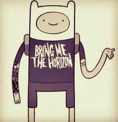 adventure time+bring me the horizon+ tattoo= PERFECTION