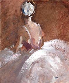 'Ballerina resting' - Sherree Valentine Daines (b. Mud Head, Ballerina Painting, Illustration Art, Illustrations, Cool Artwork, Contemporary Artists, Impressionist, Artsy Fartsy, Art Boards