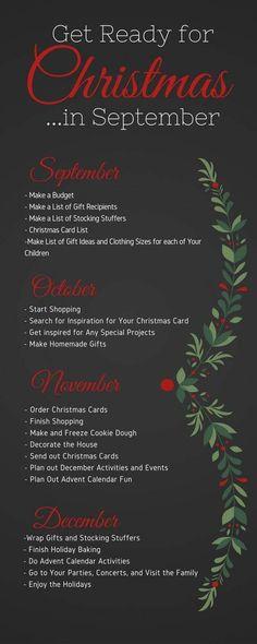 christmas traditions Christmas DIY: Get ready for christ Get ready for christmas.in September Noel Christmas, Merry Little Christmas, Winter Christmas, Christmas Gifts, Christmas Things, Magic Of Christmas, Christmas 2017, Holiday Gifts, Christmas To Do List