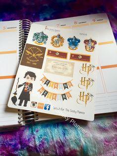 ECLP Planner Stickers Wizard Harry Potter от TheGeekyPlanner