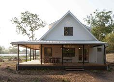 springdale farmhouse : RAUSER DESIGN (love the white, huge wraparound porch)
