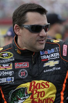 Tony Stewart on the grid before the start of the Coca-Cola 600 at Charlotte Motor Speedway. View more photos from the Coke 600 here: http://www.stewarthaasracing.com/media/gallery/index.php