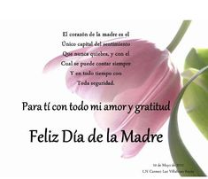 Feliz Dia de la Madre: