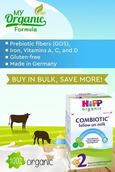 Hipp Organic has all the ingredients your baby needs to grow strong and healthy such as iron, Vitamins A, C, and D. Vitamin D is essential for calcium absorption, and bone growth, and Iron contributes to the normal functioning of the immune system. 🍼 👶✔️ From 6 months onwards✔️ 1 box includes 1 sealed bag✔️ 800g (28.21oz)✔️ Does not contain starches✔️ Contains Prebiotic fibers (GOS),✔️ Contains Iron, Vitamins A, C, and D✔️ Made in Germany 👍 Pin for later! ⏳ best formula for babies, si Folic Acid, Organic Soil, Organic Baby, Hipp Baby, Whey Powder, Organic Formula, Pantothenic Acid, Vitamin K