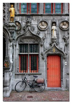 Basilica of the Holy Blood • Brugges, Belgium on We Heart It. http://weheartit.com/entry/21899314