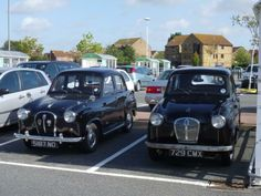 Austin A35 and A30 4 door saloons