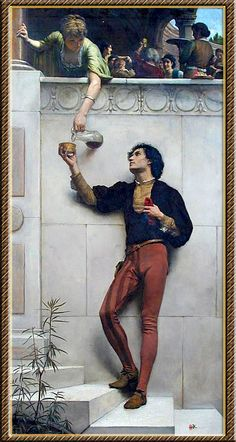 George Percy Jacomb-Hood .Drink to Me Only with thyne eyes