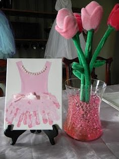 Tutu Birthday Party (invites or party activity)