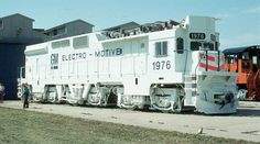 EMD GM10B - this was single 3000 HP prototype built 1976.