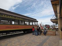 For a train ride that is as beautiful as it is delicious, climb aboard the Leadville Colorado & Southern Railroad for their Devil's Trail BBQ. Alamosa Colorado, Leadville Colorado, Train Rides In Colorado, Colorado Real Estate, Colorado Trip, Places To Travel, Places To Go, Usa Holidays, Vacation Trips