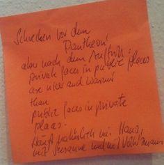 #denkzettel von Tilm