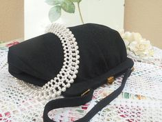 Black & White... Leather & gold... by Jules Read on Etsy
