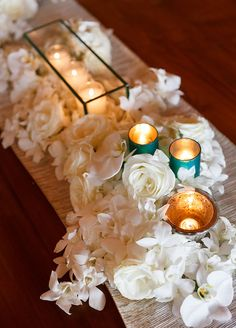 Destination Wedding, Turquoise and White, Hawaii, Island Wedding || Colin Cowie Weddings