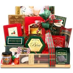 Holiday Sampler Cutting Board from Holiday Gifts and Gift Baskets
