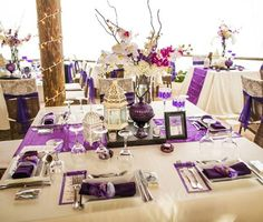 Purple & Silver color theme.