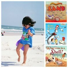 {Books Exploring Science at the Beach} Search for habitats, watch the tides and play with sand in these fun reads & hands-on activities.
