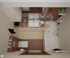 Łazienka styl Nowoczesny - zdjęcie od GAMArchitect - Łazienka - Styl Nowoczesny - GAMArchitect