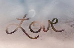 Love foggy window