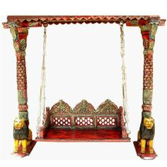 Solid Wood Hand Painted Carved Swing Loveseat Furniture Sierra Living Concepts,http://www.amazon.com/dp/B0012Z5A1Q/ref=cm_sw_r_pi_dp_-nEetb1KCRHSFFTP