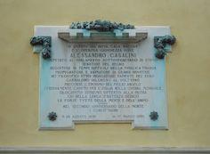 lapide Alessandro Casalini, palazzo Casalini, Virgilio Milani, Rovigo by Pivari.com, via Flickr