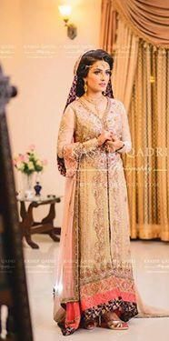 Pakistani star ayeza khan on her walima
