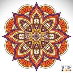 Find Mandala Round Ornament Pattern Vintage Decorative stock images in HD and millions of other royalty-free stock photos, illustrations and vectors in the Shutterstock collection. Mandala Doodle, Mandala Art, Mandala Design, Croquis Mandala, Mandala Painting, Mandala Pattern, Ornament Pattern, Free Vector Art, Vector Vector