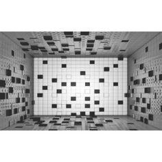 Fototapeta, Tapeta Abstraktní umění - černobílá, (104 x 70.5 cm)