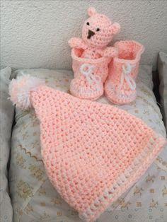 Set -čiapočka,topanočky Merino Wool Blanket