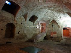 Basement of Ducal Palace - Urbino, Italy
