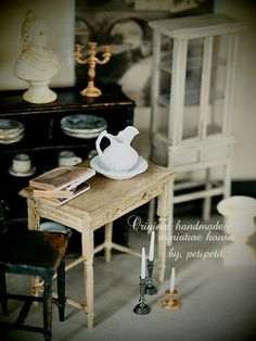 miniature house* 塗装の画像:natural色の生活~handmade家具