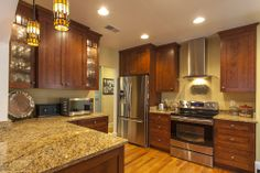 From old to New Kitchen!  CenterBeam Construction Jacksonville, Florida www.centerbeamconstruction.com