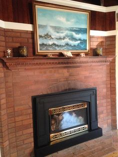 1000 images about craftsman fireplace details on for Craftsman gas fireplace
