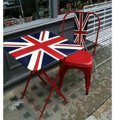 On the sidewalk - London