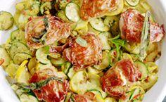 Medalhão de carne de porco recheado com queijo: receita de Jamie Oliver - Receitas - GNT