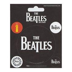 Beatles Logo Set of 5 Vinyl Stickers Officially licensed merchandise
