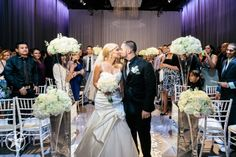 Congrats to the beautiful couple! #babysbreath #ceremony #ceremonyspace #artifactsroom #libertygrand #chiavari www.fusion-events.ca http://rickobrienphotographer.com