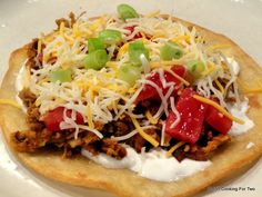 101 Cooking For Two - Everyday Recipes for Two: Spicy Mexican Shredded Pork Tostadas (Tinga)