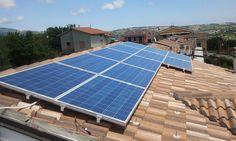 Impianto fotovoltaico ad OSIMO da 3,00 kWp su copertura - 12 moduli in SILICIO POLICRISTALLINO da 245 Wp