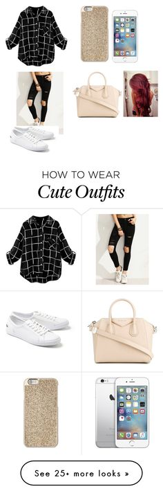 """""""My dream outfit tonight"""" by nejlahusetovic61 on Polyvore featuring Michael Kors, Lacoste, Givenchy and AT&T"""
