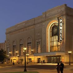 Powell Hall - home of the St. Louis Symphony Orchestra