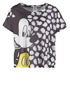Vero Moda VMMOUSE  Tshirt z nadrukiem black