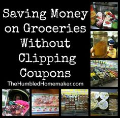 Can you have a frugal grocery budget even if you don't clip coupons? Yes! This post will tell you how to save money on groceries without using coupons!