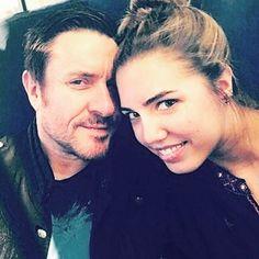 Simon & daughter, Amber