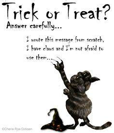 Halloween Cat ecard #Halloween #freehalloweenecards #ecards