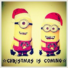 minions christmas is coming